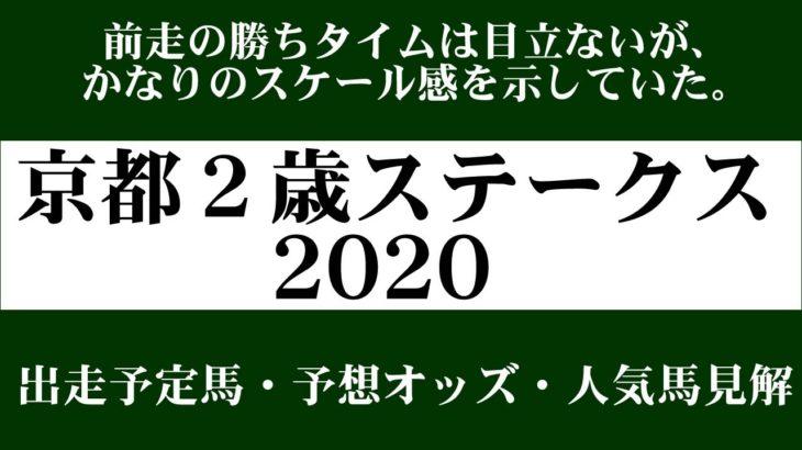 【ゼロ太郎】「京都2歳ステークス2020」出走予定馬・予想オッズ・人気馬見解