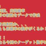 2020年11月版 【宝くじ】ロト6分析 ⑦を買う人必見 出現回数 出現確率 ロト7 ミニロト