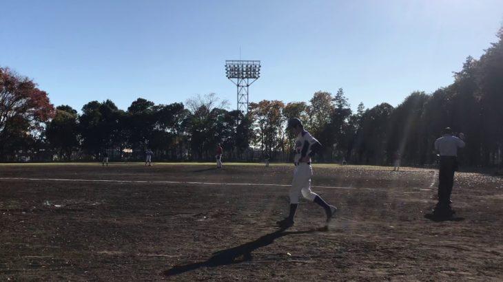 2020/11/21 練習試合 ニューオッズ