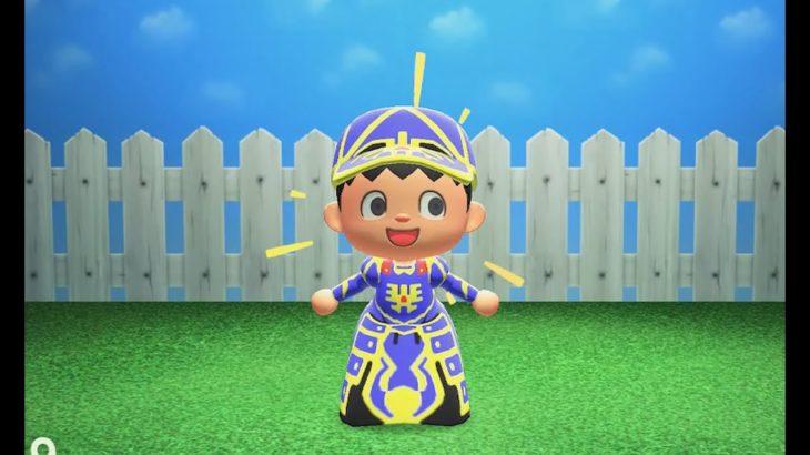 マイデザインでロトの装備作りました。作品ID配布しています。【あつまれどうぶつの森】【Animal Crossing  New Horizons】 Custom Design