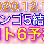 【2020.12.17】ビンゴ5結果&ロト6予想!