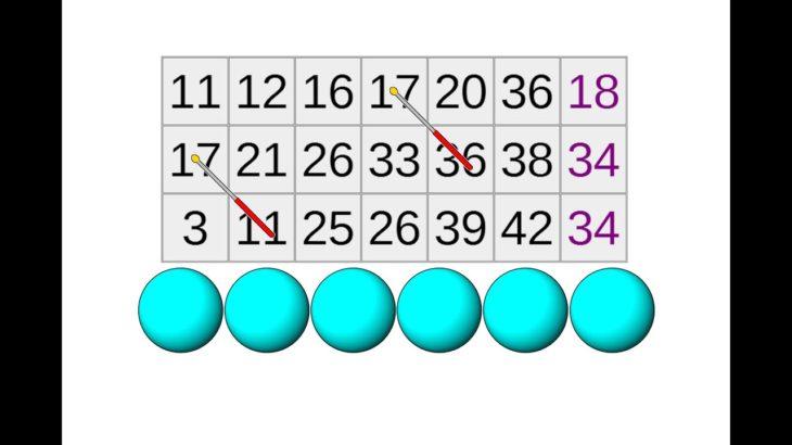 【ロト6】第1545回 ロト6の予想!! 2020/12/21【宝くじ】