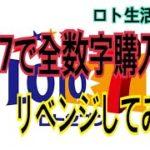 ロト7でリベンジ全数字購入!【ロト生活番外編】
