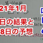 【第1554回】2021年1月25日のロト6!