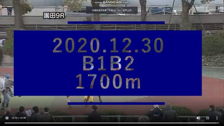 2020.12.30【園田競馬パドック】オッズパークハンデほか