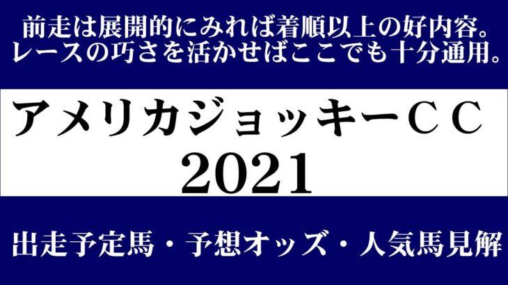 【ゼロ太郎】「アメリカジョッキーCC2021」出走予定馬・予想オッズ・人気馬見解