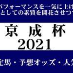 【ゼロ太郎】「京成杯2021」出走予定馬・予想オッズ・人気馬見解