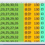ロト 7 合計 130 ビデオ番号 209