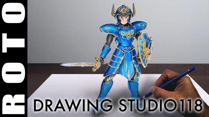 ドラクエ 伝説の鎧 ロト イラストメイキング  |  Drawing studio 118