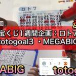 ロト7totoGOAL3!MEGABIG!中止試合で当選チャンス!第3回宝くじ1週間企画 後編