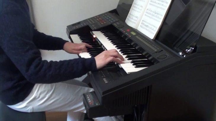 ドラゴンクエスト「ロトのテーマ」を30年前のエレクトーンで弾いてみた