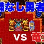 【ドラクエ1】ロトの装備をはずして、竜王に挑む勇者