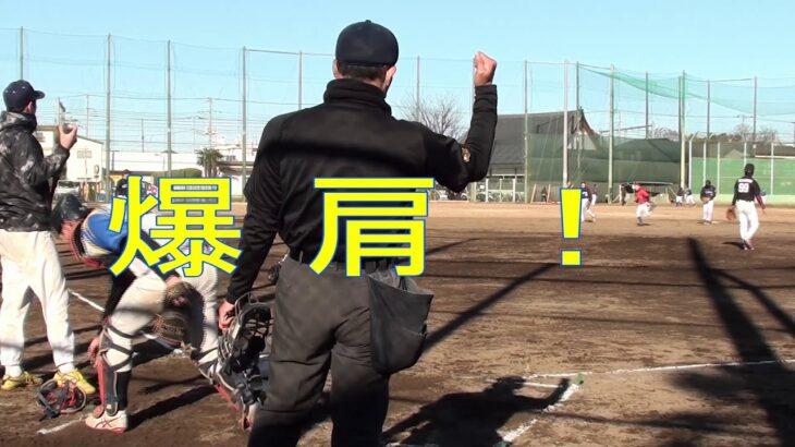 2021 1/30 ニューオッズ戦 キャチャー藤井