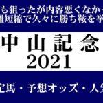 【ゼロ太郎】「中山記念2021」出走予定馬・予想オッズ・人気馬見解