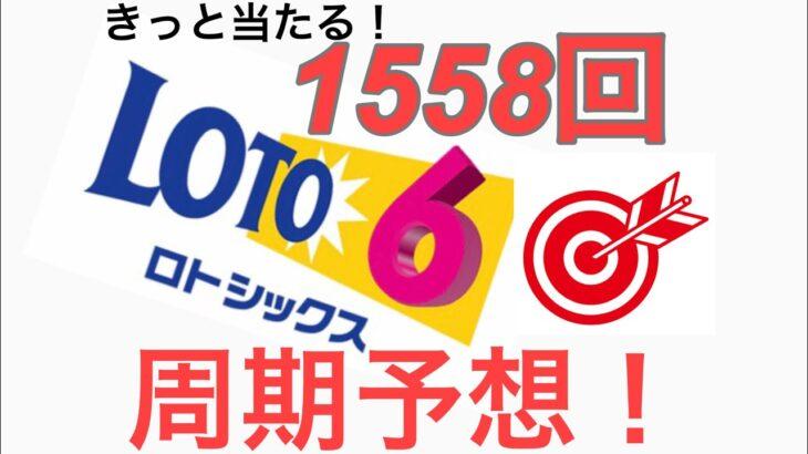 2021年2月8日 【1558回】 ロト6 周期予想