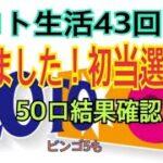 【ロト生活】43回目!出ました初当選!