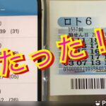 ロト6結果発表〜!当たった!?