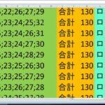 ロト 7 合計 130 ビデオ番号 658