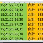 ロト 7 合計 133 ビデオ番号 230