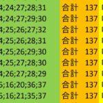 ロト7 合計 137 ビデオ 90