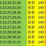 ロト7 合計 140 ビデオ 87