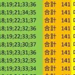 ロト7 合計 141 ビデオ 16