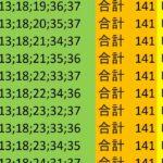 ロト7 合計 141 ビデオ 98