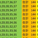 ロト7 合計 144 ビデオ 61