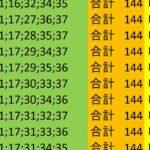 ロト7 合計 144 ビデオ 87