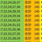 ロト7 合計 145 ビデオ 137