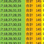 ロト7 合計 145 ビデオ 138
