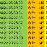 ロト7 合計 145 ビデオ 157