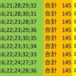 ロト7 合計 145 ビデオ 158