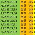ロト7 合計 145 ビデオ 160