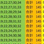 ロト7 合計 145 ビデオ 23
