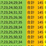 ロト7 合計 145 ビデオ 58