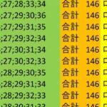 ロト7 合計 146 ビデオ 10