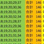 ロト7 合計 146 ビデオ 157