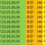 ロト7 合計 146 ビデオ 163