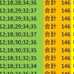 ロト7 合計 146 ビデオ 181