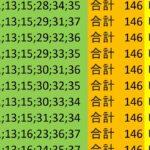 ロト7 合計 146 ビデオ 208