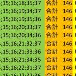 ロト7 合計 146 ビデオ 222