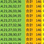 ロト7 合計 146 ビデオ 78