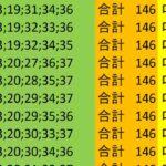 ロト7 合計 146 ビデオ 95