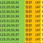 ロト7 合計 147 ビデオ 87
