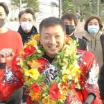 オッズパーク杯SG第34回全日本選抜オートレース最終日・優勝戦(枠番選択)、一騎打ちムードに楔を打ったのはやっぱりこの男だ! 飯塚ナンバーワン・荒尾聡(飯塚27期)が5回目のSG制覇で通算63V!