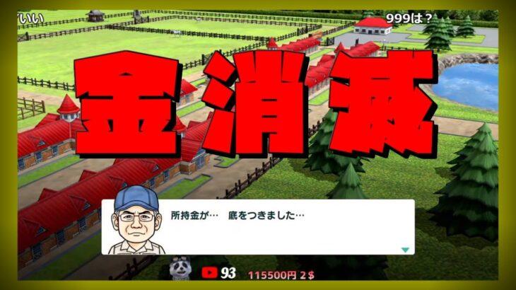 121【ダビスタ】破産→馬券ギャンブル→破産w🐼【任天堂switch版ダービースタリオン】