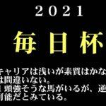 【ゼロ太郎】「毎日杯2021」出走予定馬・予想オッズ・人気馬見解