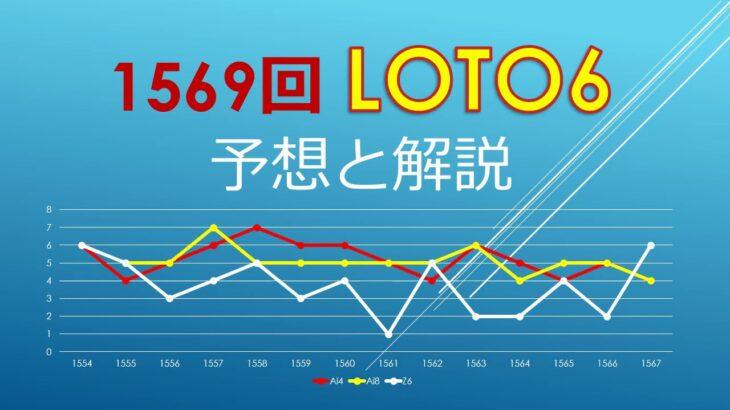2021年3月18日、1569回ロト6の当選数字を予想