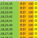 ロト 6 合計 100 (43から6)  ビデオ 1085